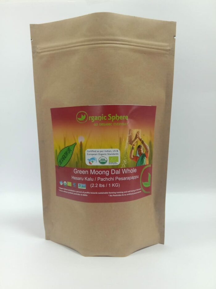 Green Moong Dal in USA