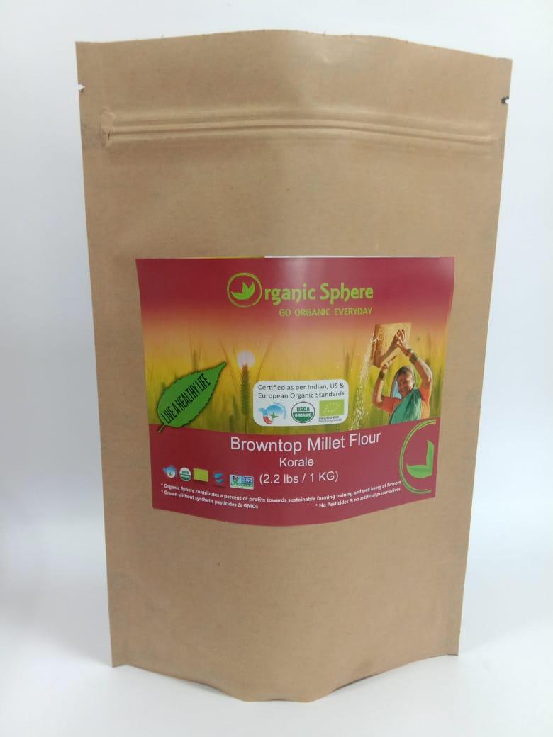 Browntop Millet Flour
