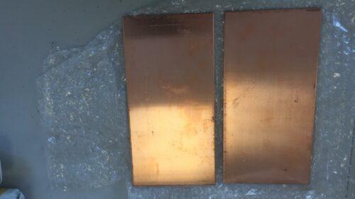 Copper plate in USA