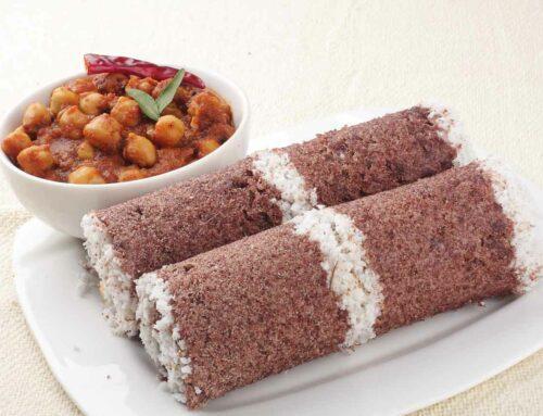 Kerala Style Ragi Puttu Recipe
